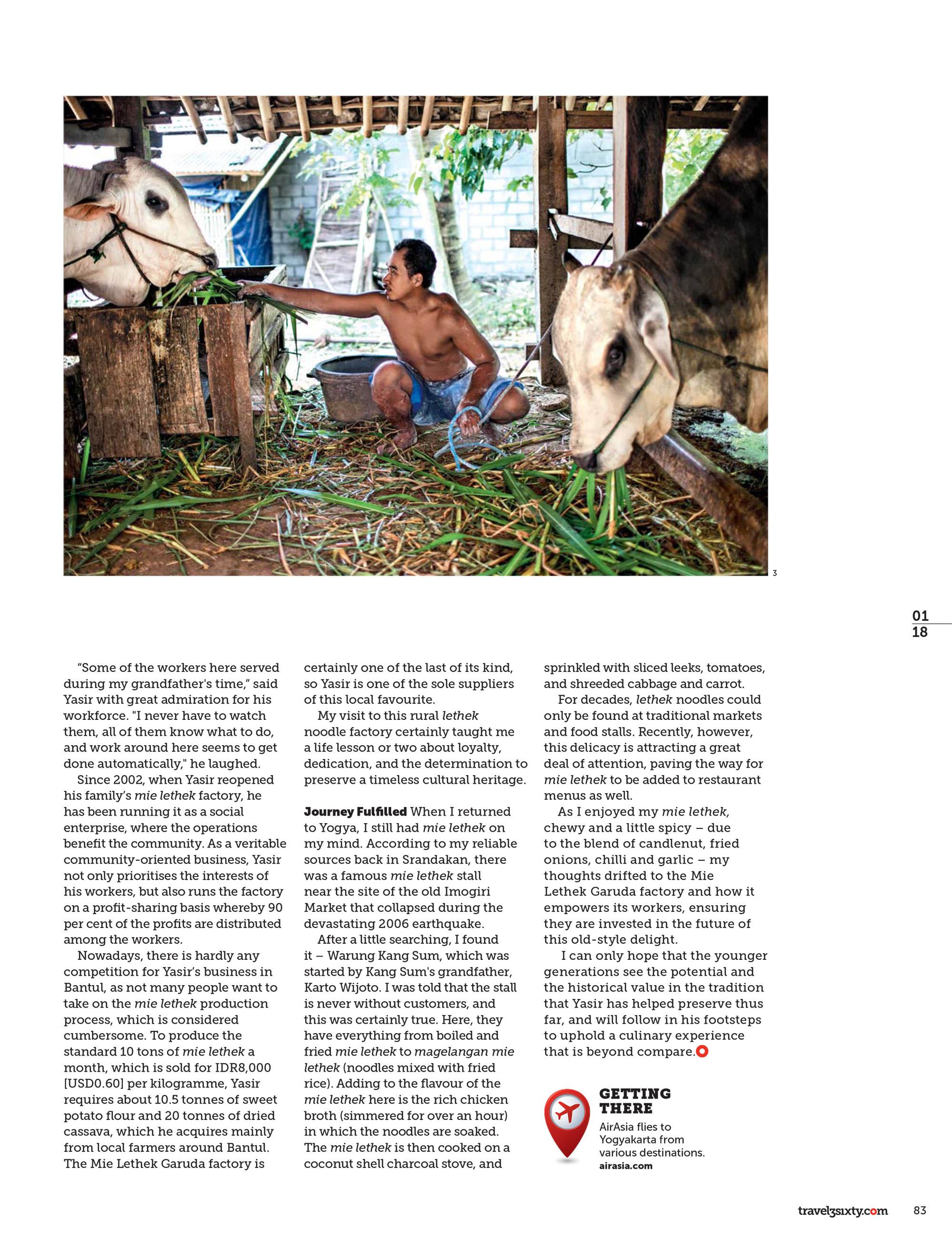 Travel 3 Sixty Magazine, 2018