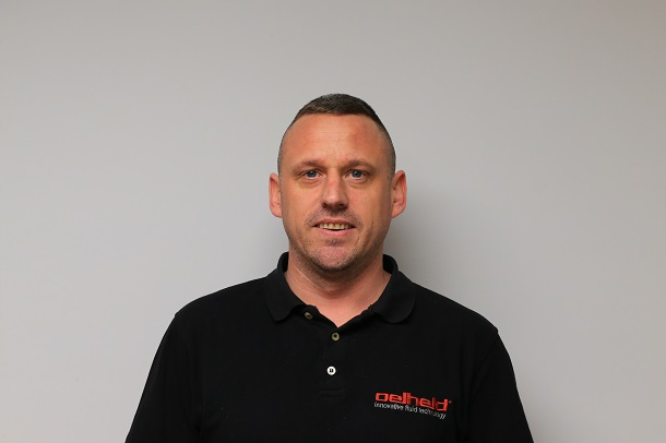 Chris has been with us at oelheld for over 10 years now, managing the design and installation of our oil filtration and oil mist extraction systems. Chris has been instrumental in the development and delivery of our service contract offering, in response to client requests for a contract to give them peace of mind that they are covered for both routine maintenance and should a call out be required. As a result, Chris is a well known face at our clients' sites and is considered part of the team by a number of our customers.