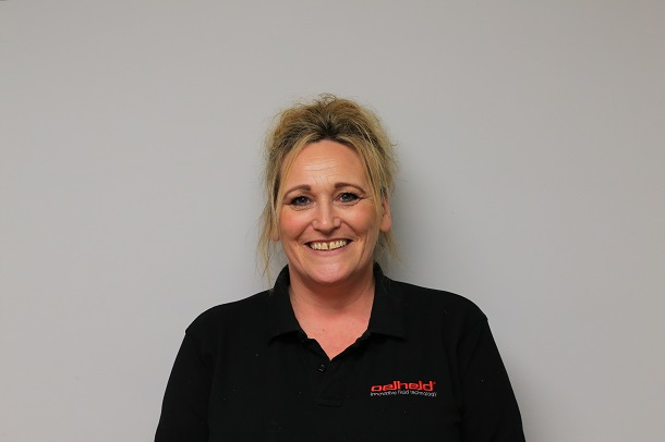 IOSH and COSHH qualified, Lynne takes care of all things Health & Safety related here oelheld as well as managing sales of filter and mist extraction systems. Lynne has been key to the company's development over recent years which have seen the team and organisation expanding - she has become a focal point for the coordination of projects and resources, building excellent working relationships with our suppliers. Lynne is the proud owner of our office mascot, Roxy, who you can meet below...