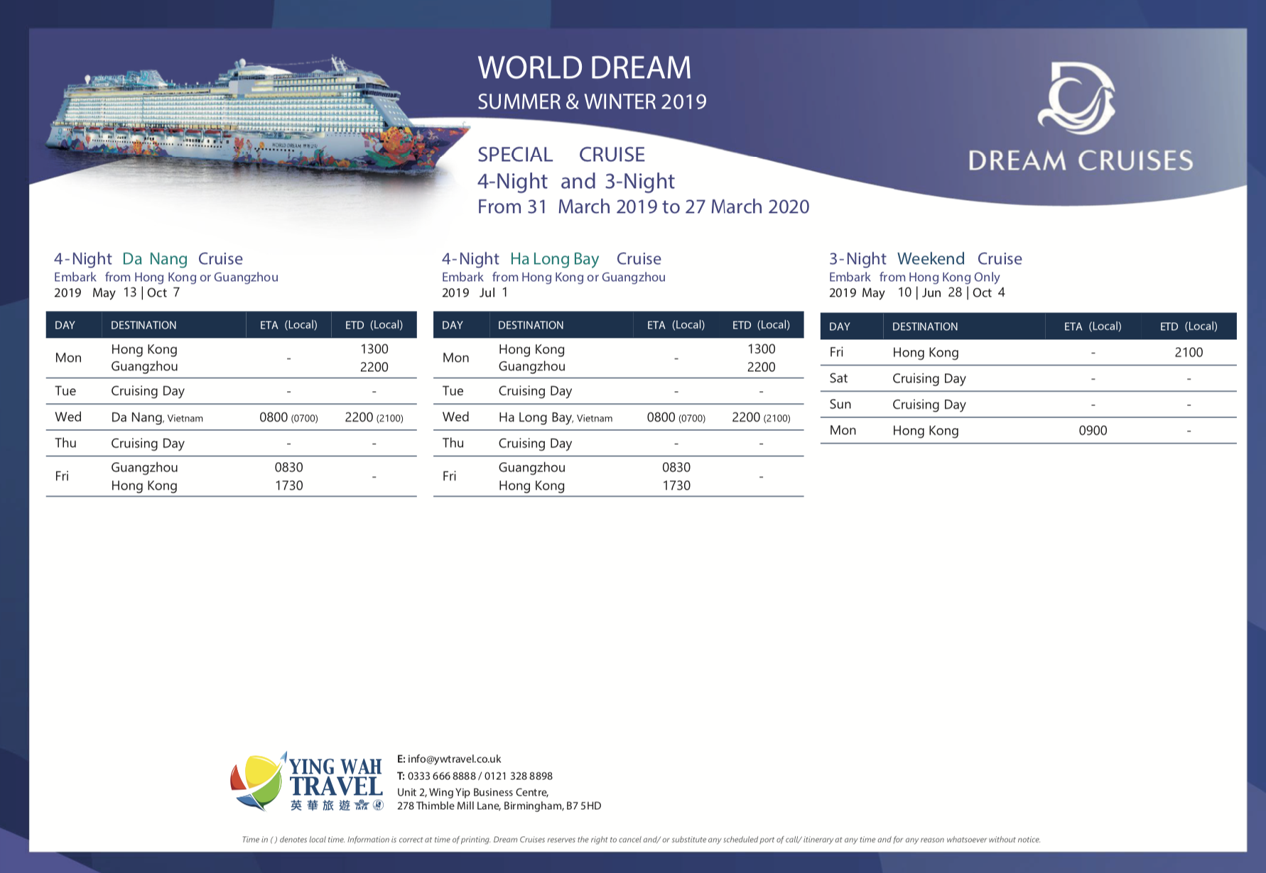 WORLD DREAM - SUMMER+WINTER (2019-2020) - 2
