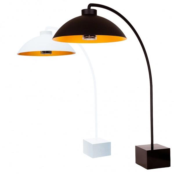 Heatsail Dome Bow Freestanding Floor, Outdoor Heating Lamp