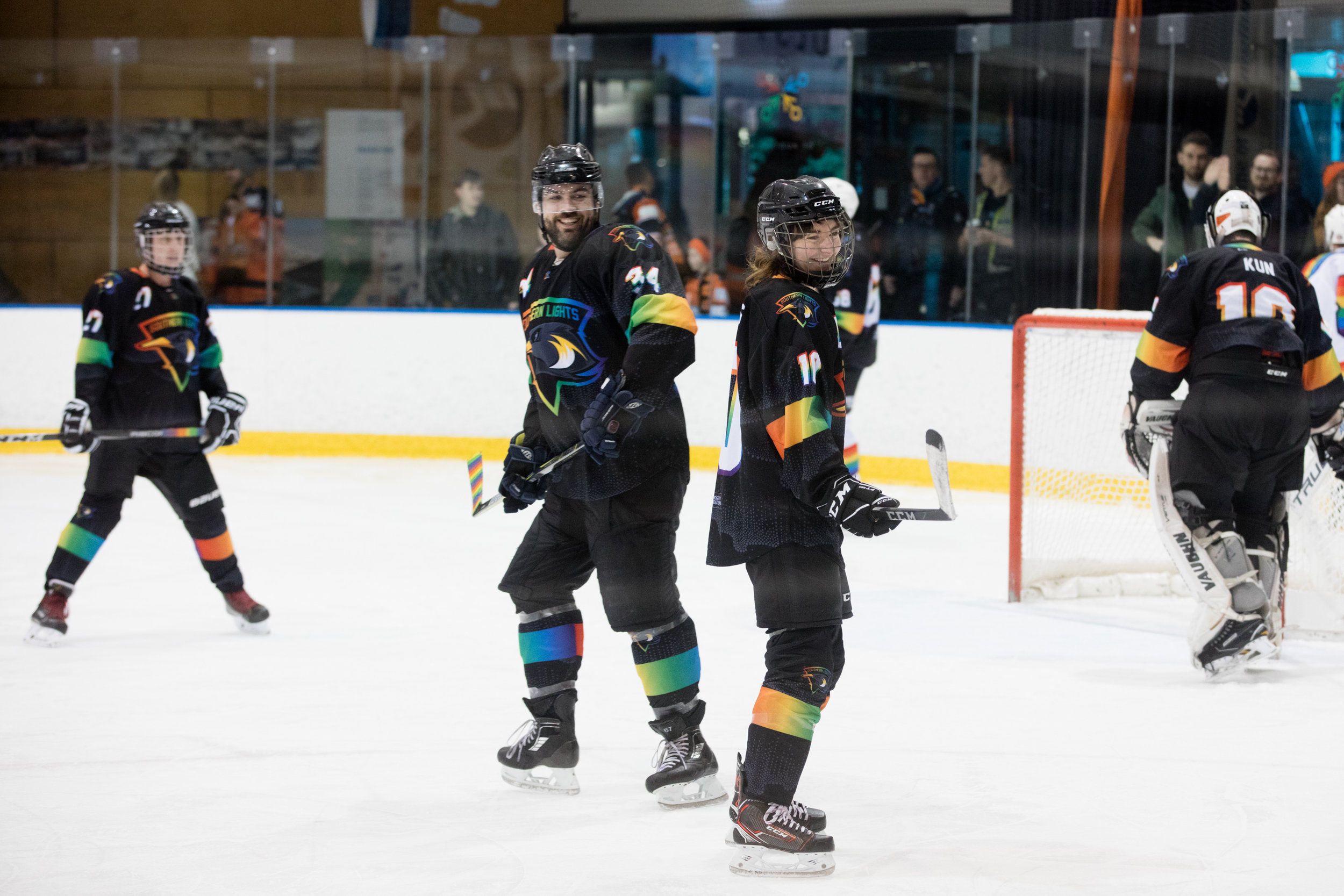 Play for the Southern Lights - Want to get out on the ice and represent the Lights? Let us know!
