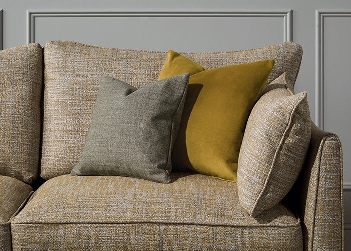 Pic: Project - Mill House, Bath - Broad Street Sofa in Yellow Pebble