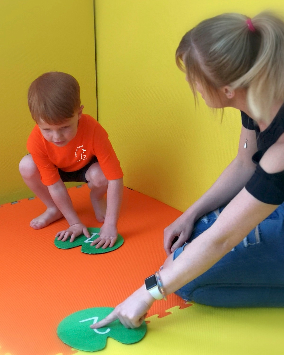 PARENT & CHILD GYMNASTIC CLASSES    Fun, energetic classes for parents and toddlers aged 18 months - 3 years