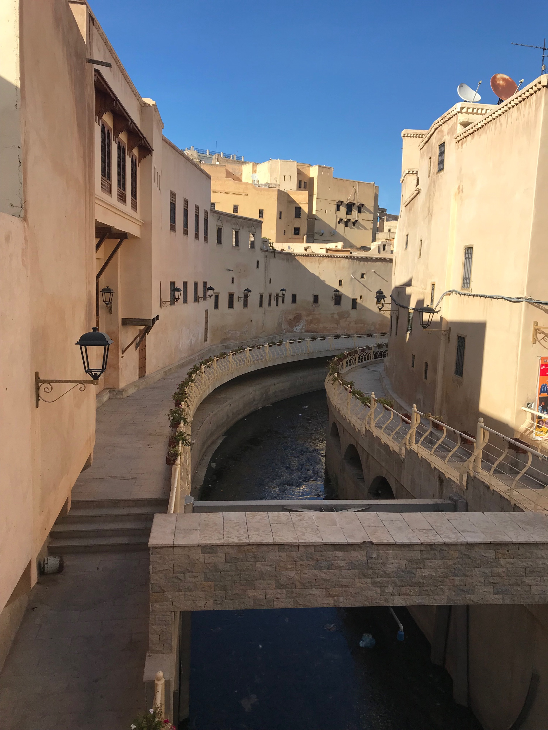 This watercourse runs right through the middle of the medina, it was relatively clean too.