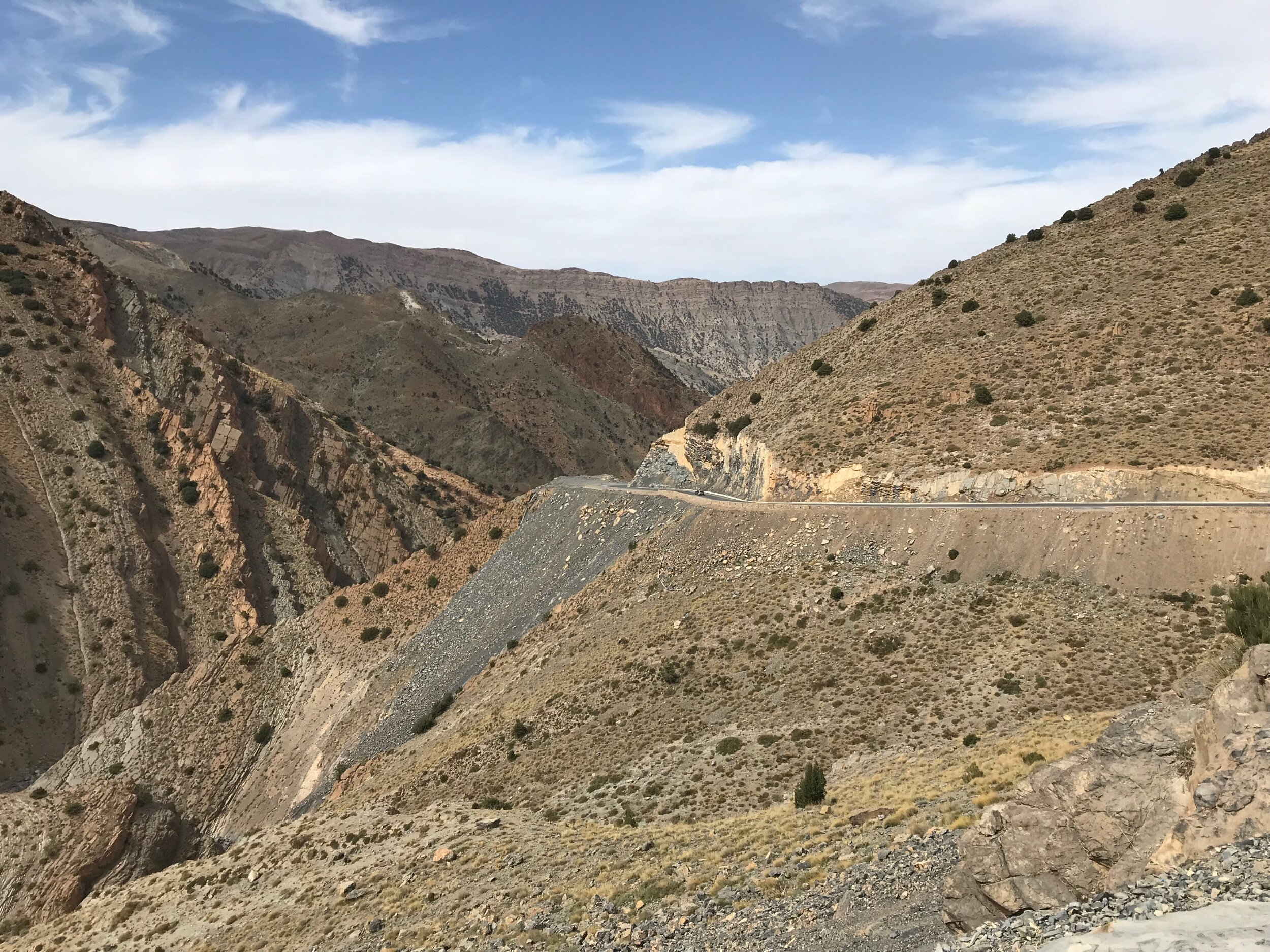 Amazing views today in the High Atlas