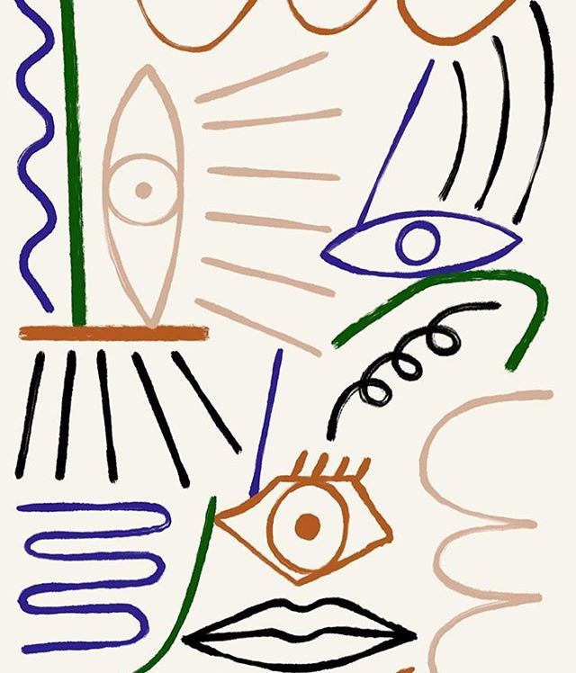 """Abstract Eyes"" by @marcello_velho"