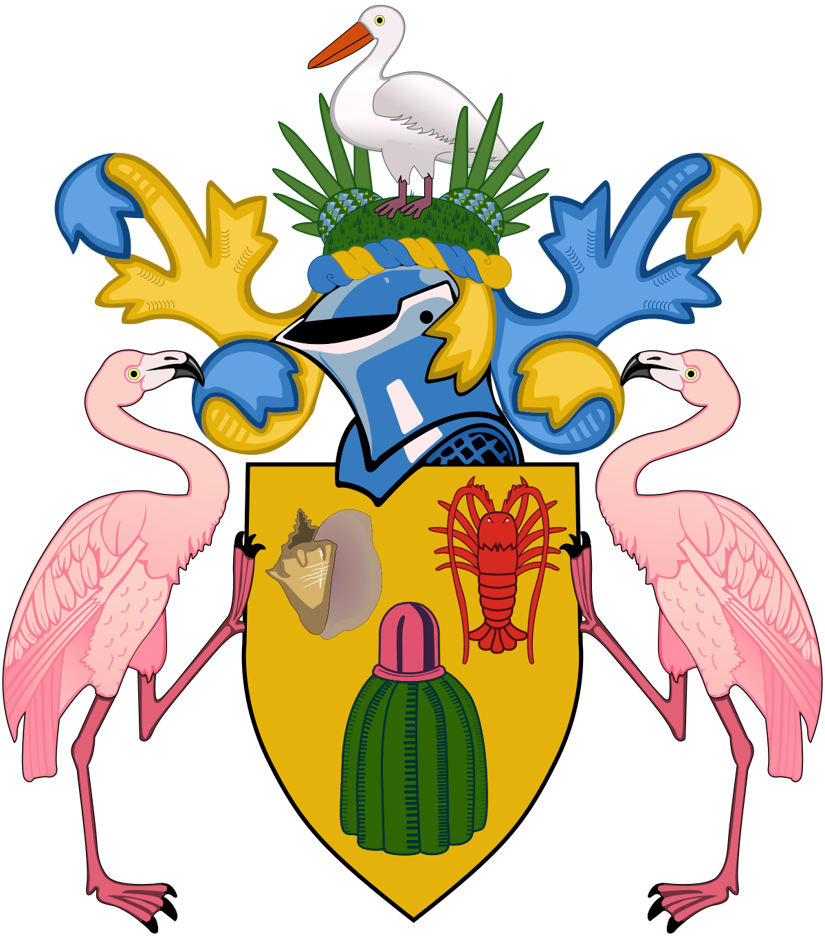 Turks & Caicos Government Logo.png