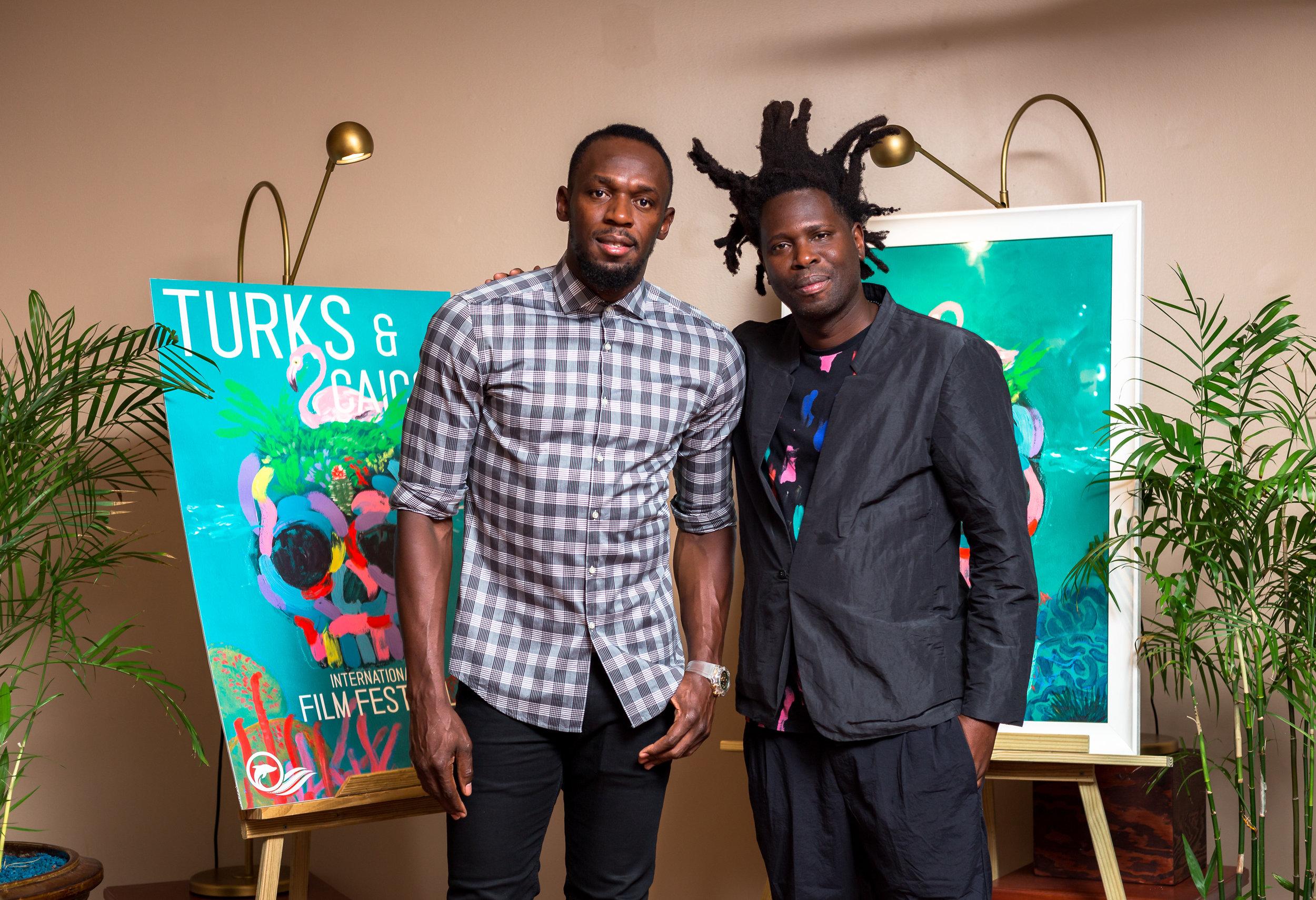 Usain Bolt and poster artist Bradley Theodore.jpg