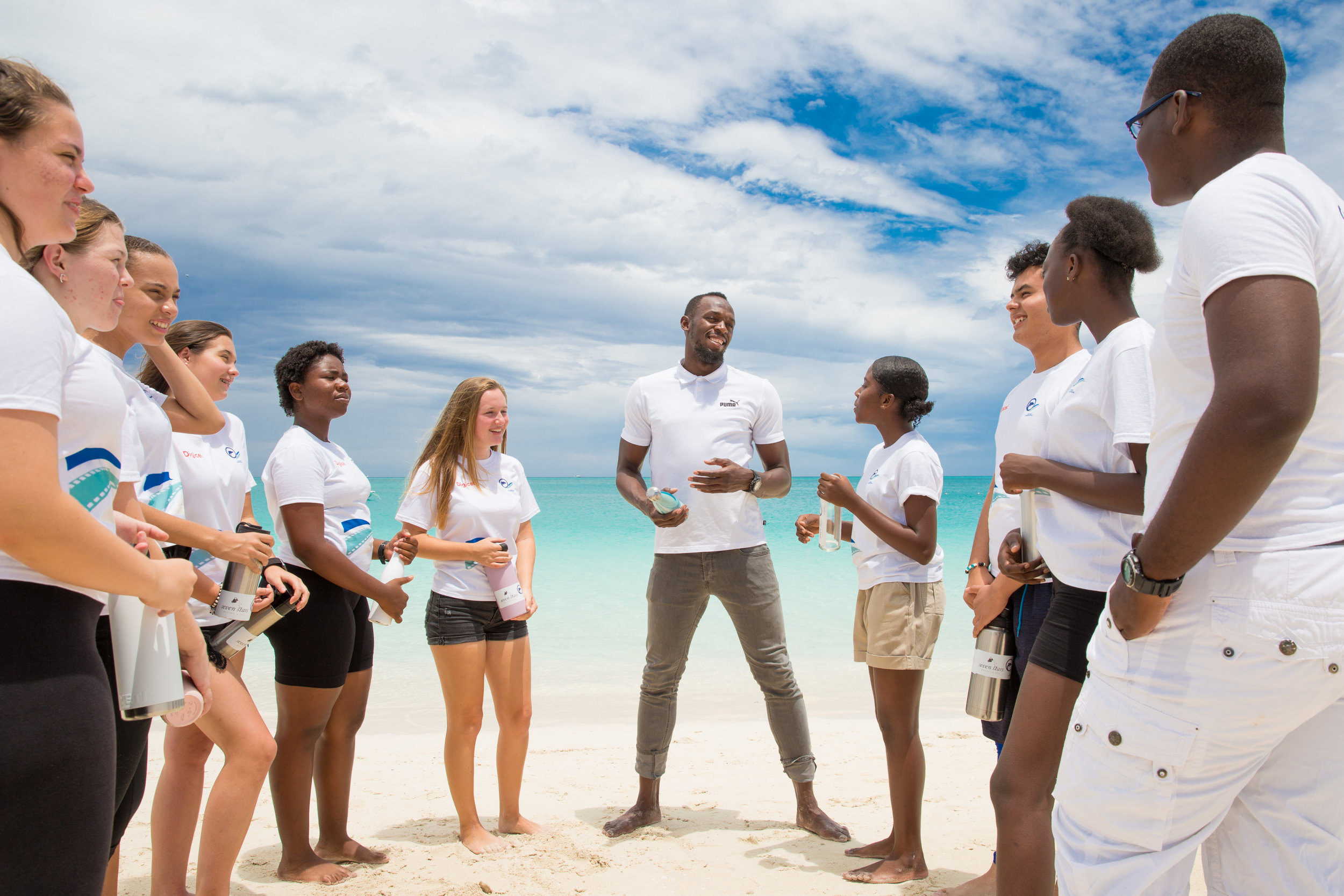 Bolt learns about the problems of plastics from TCI Eco Warriors.jpg