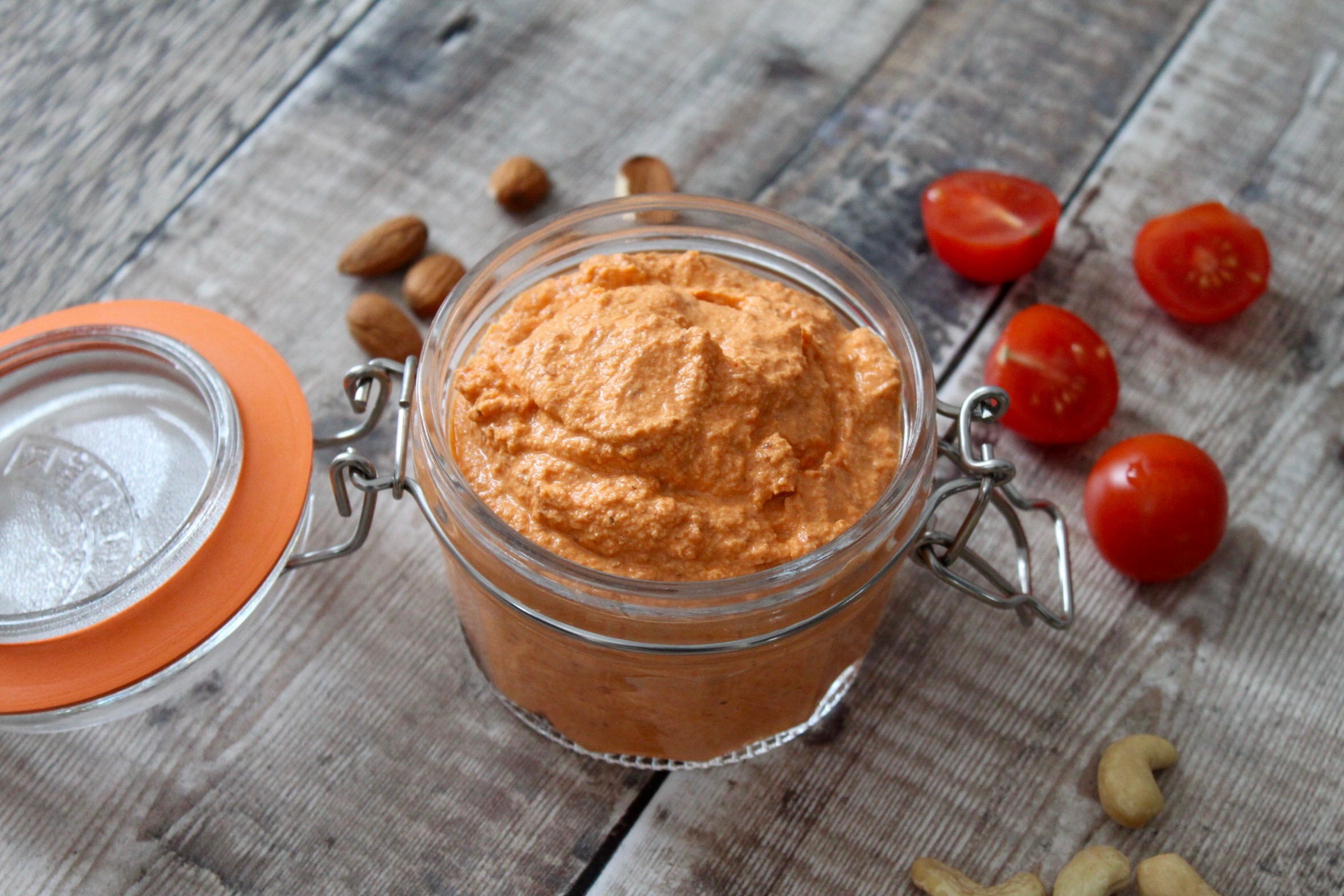 Creamy Roast Red Pepper Sauce
