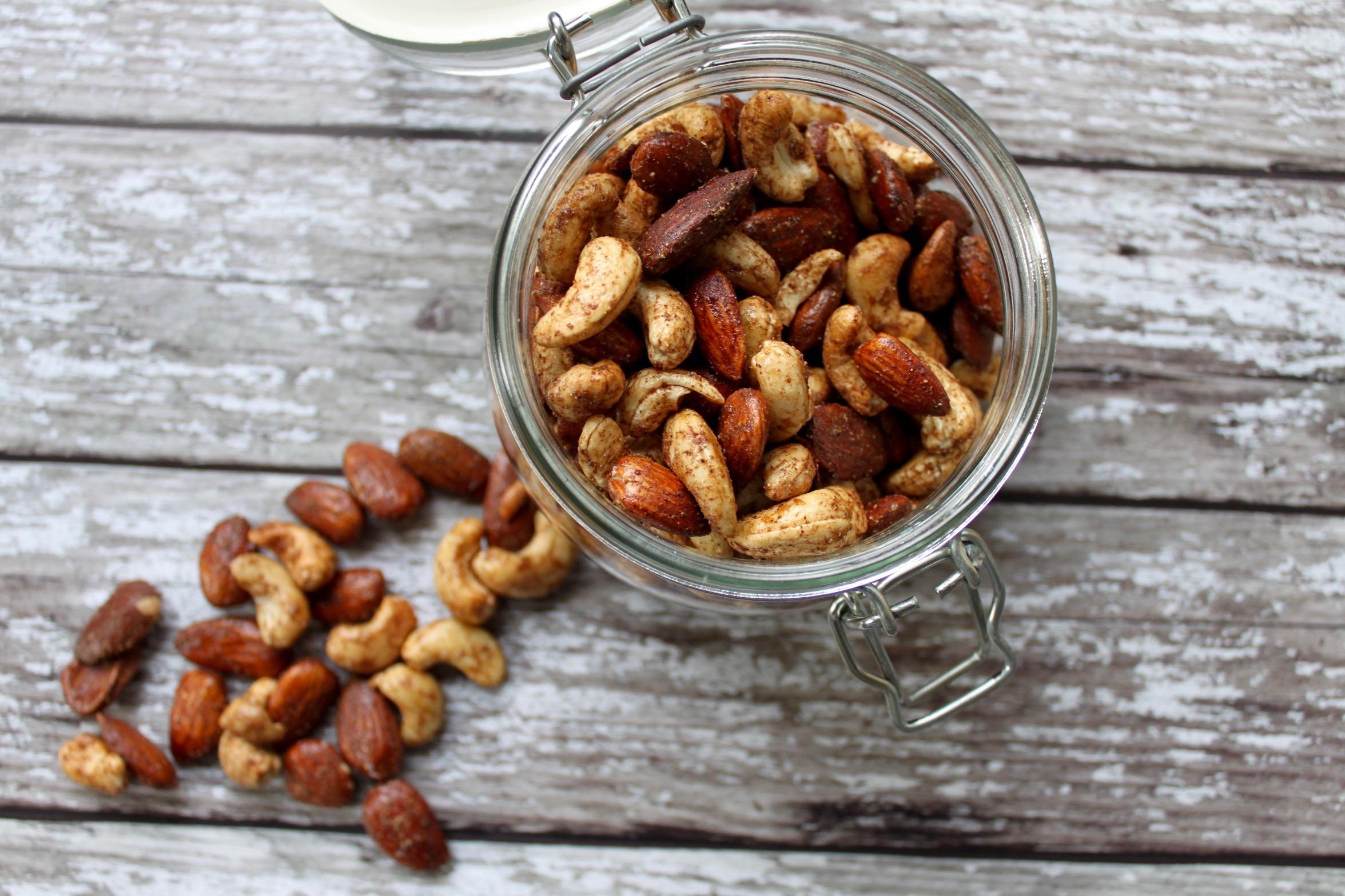 Maple & Five-Spice Roast Nuts
