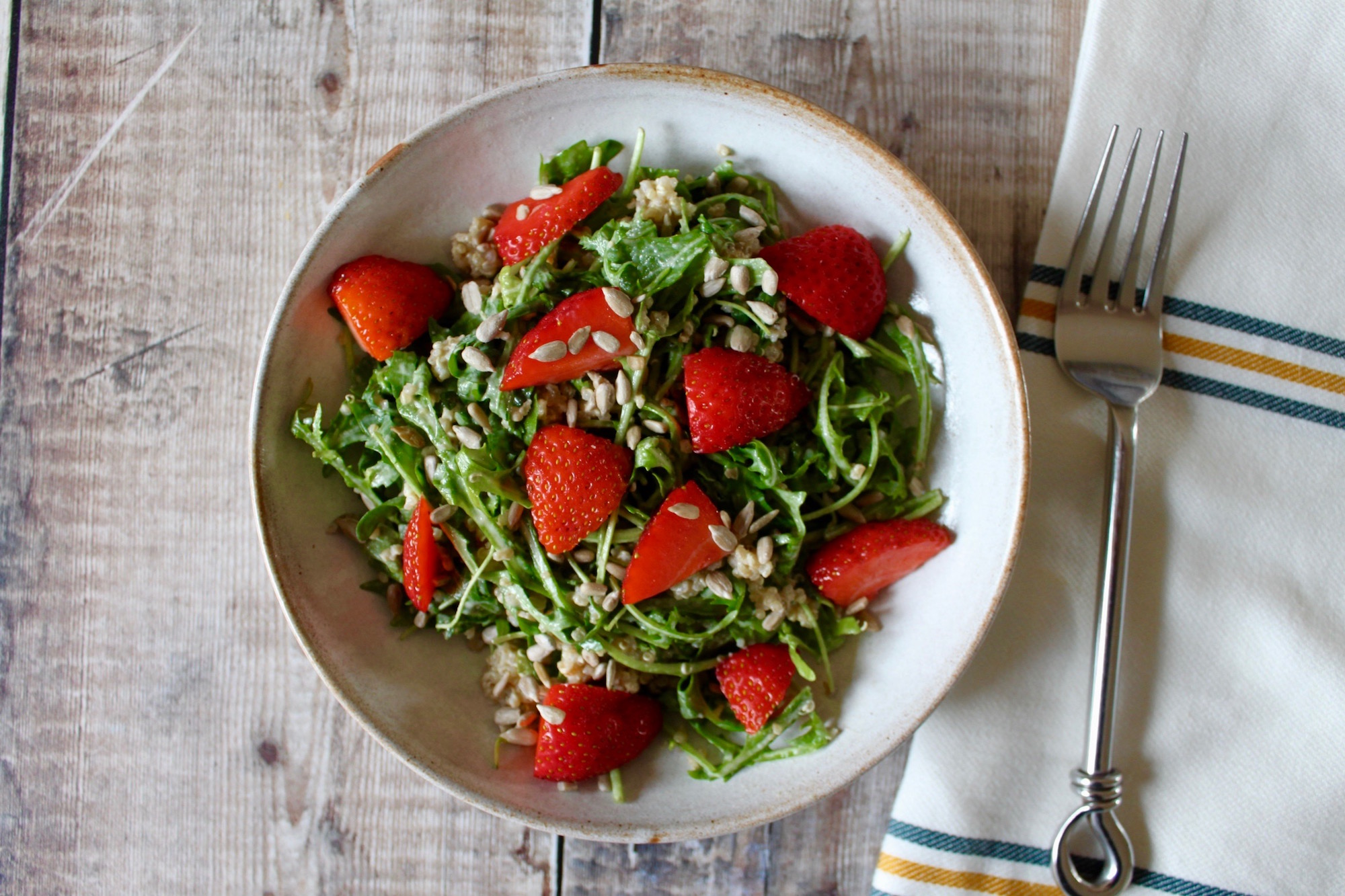 Strawberry Quinoa Arugula Salad Nourish by Rebecca1.jpg
