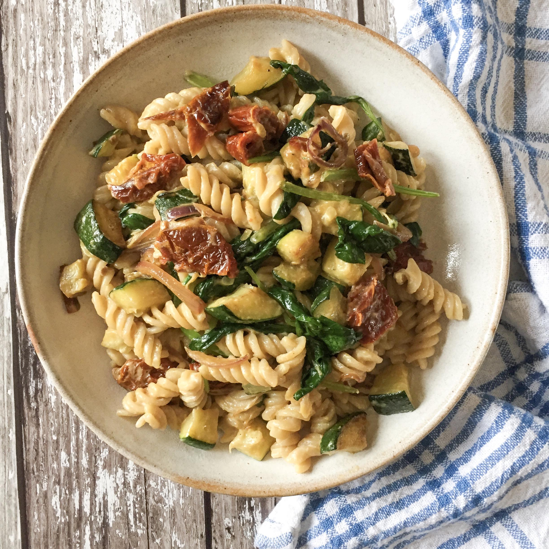 Courgette & Sundried Tomato Pasta