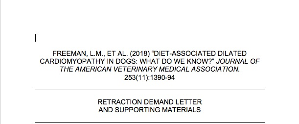 Download the retraction demand letter by clicking HERE .