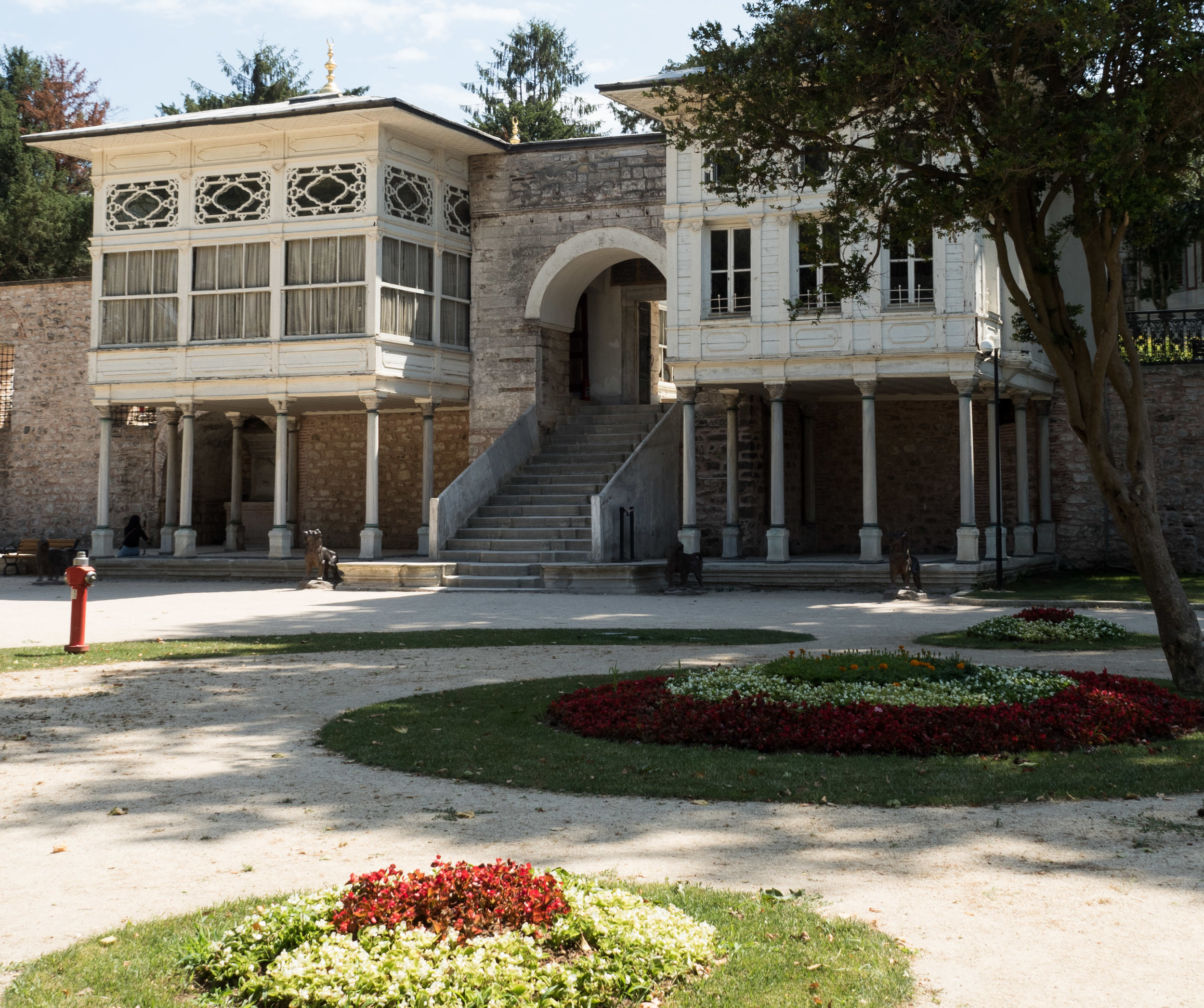 Mustafa Pasha's Kiosk Garden Side