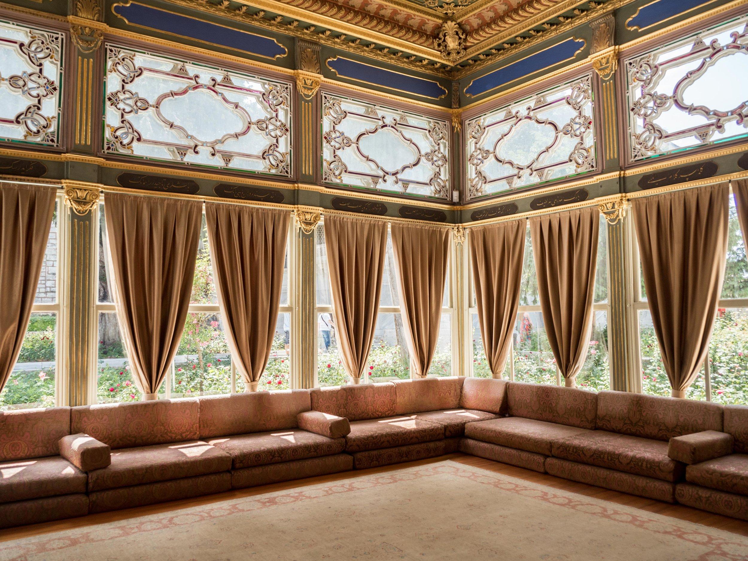 Mustafa Pasha's Kiosk Interior