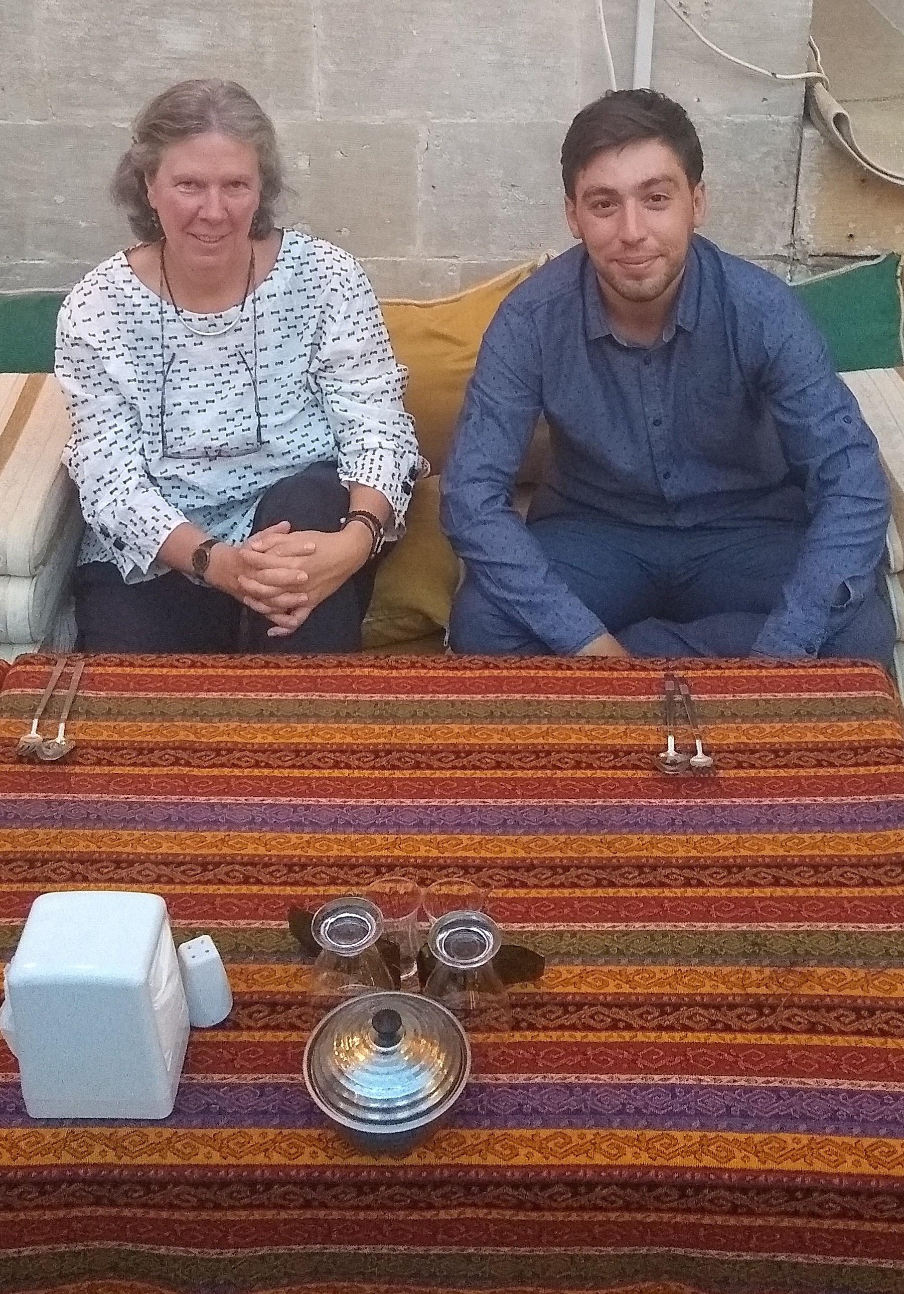 ET and Masoud