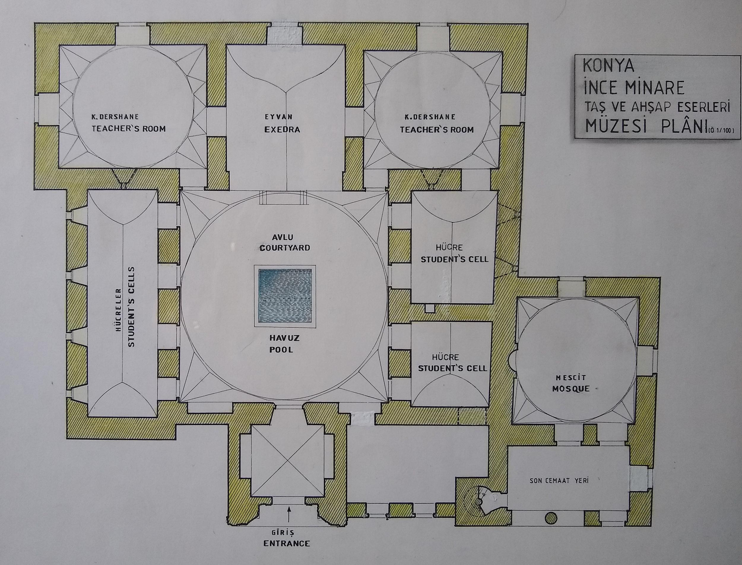 Madrassa-Museum Layout