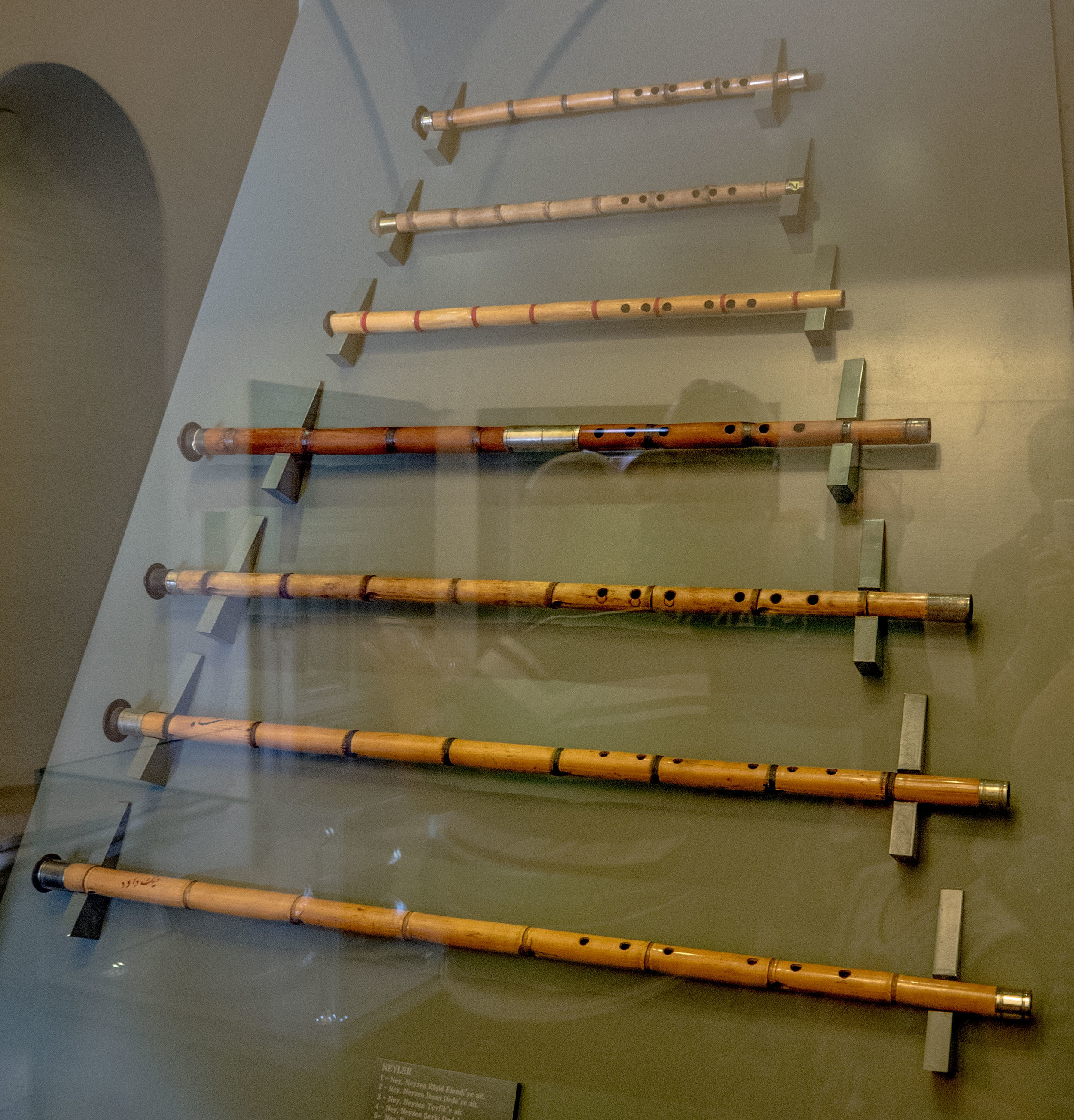 Ney Flutes on Display