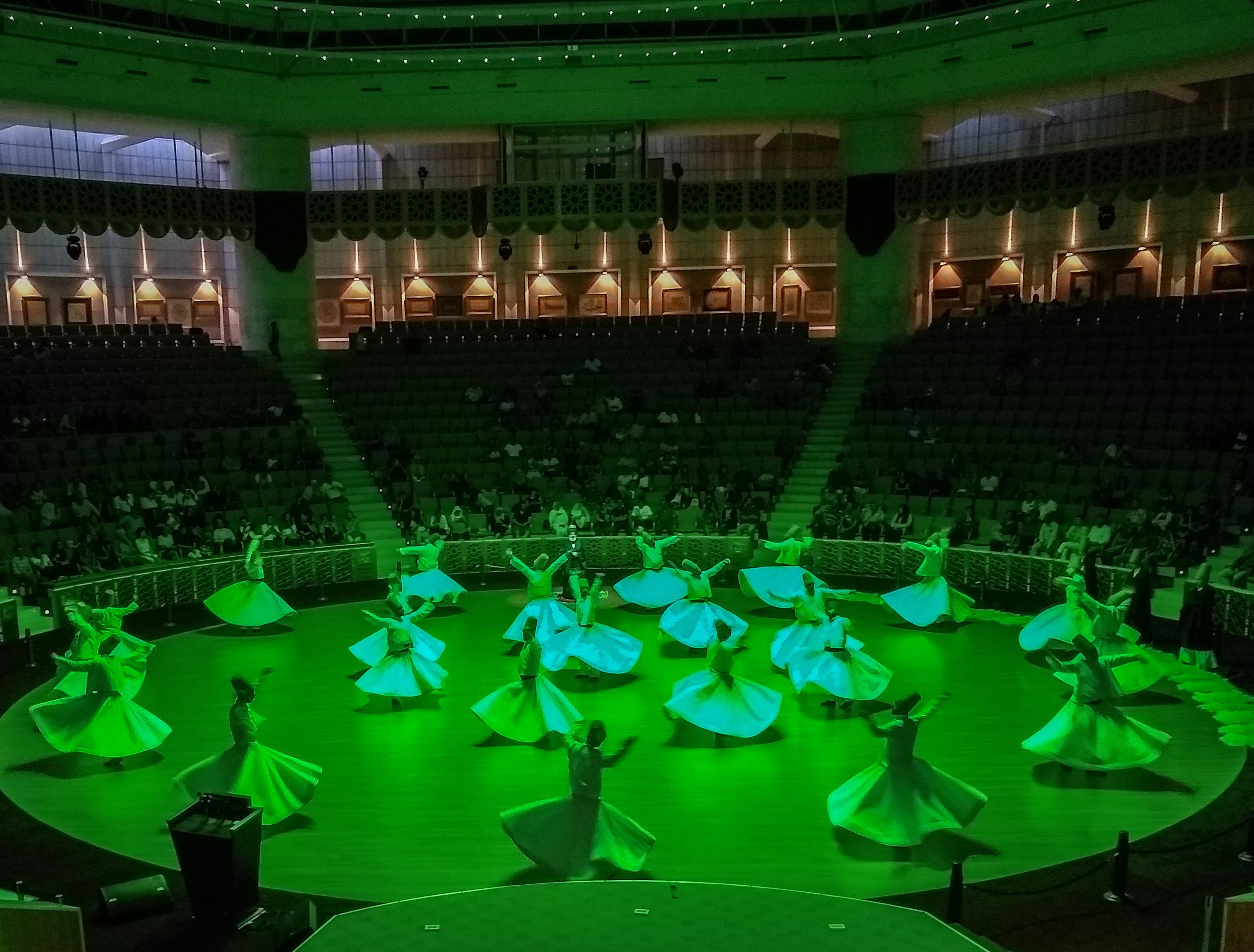 Dance in Green