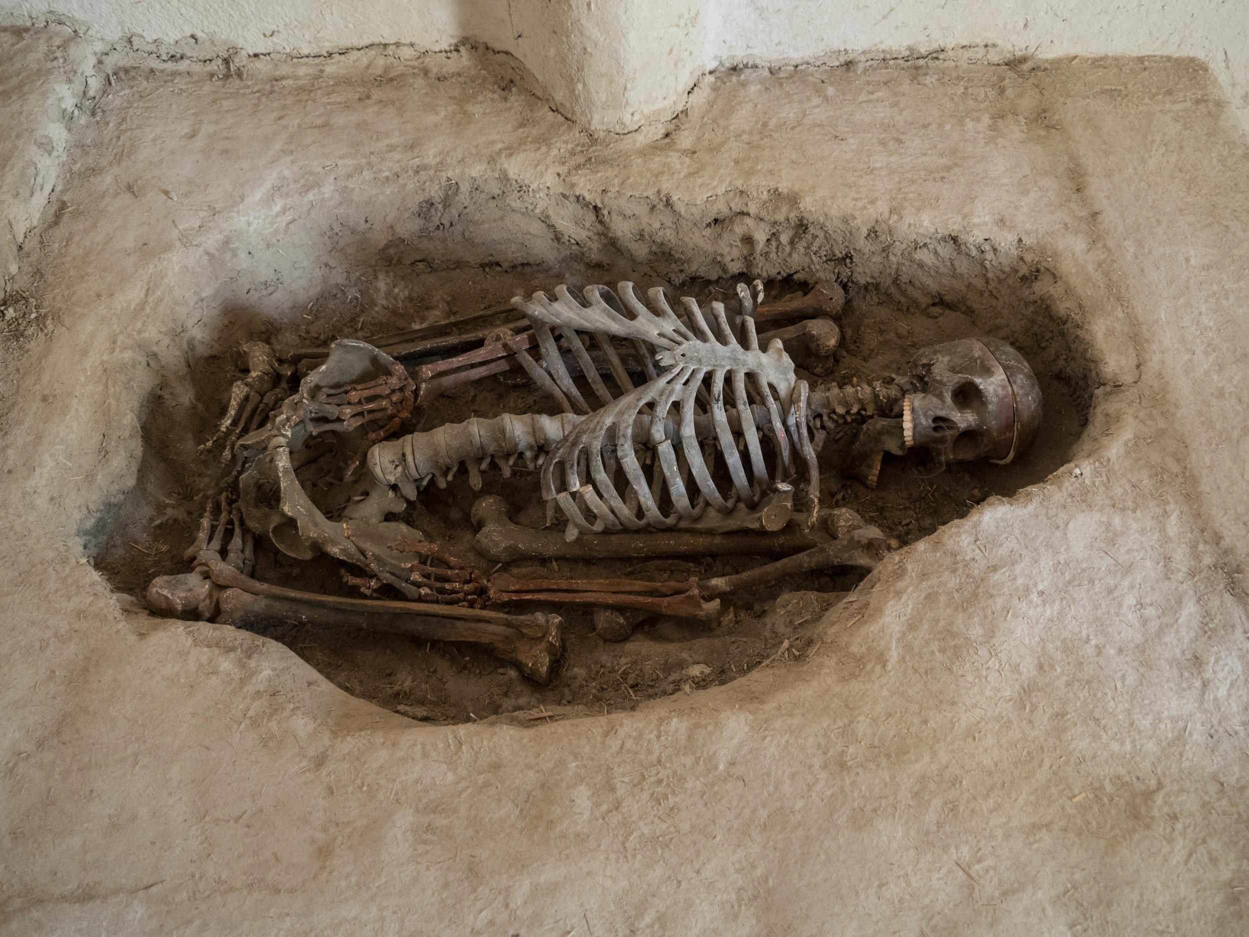 Model Burial