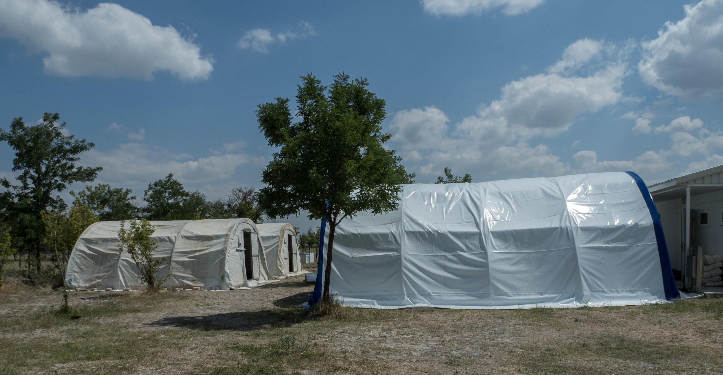 Digging Team Tent