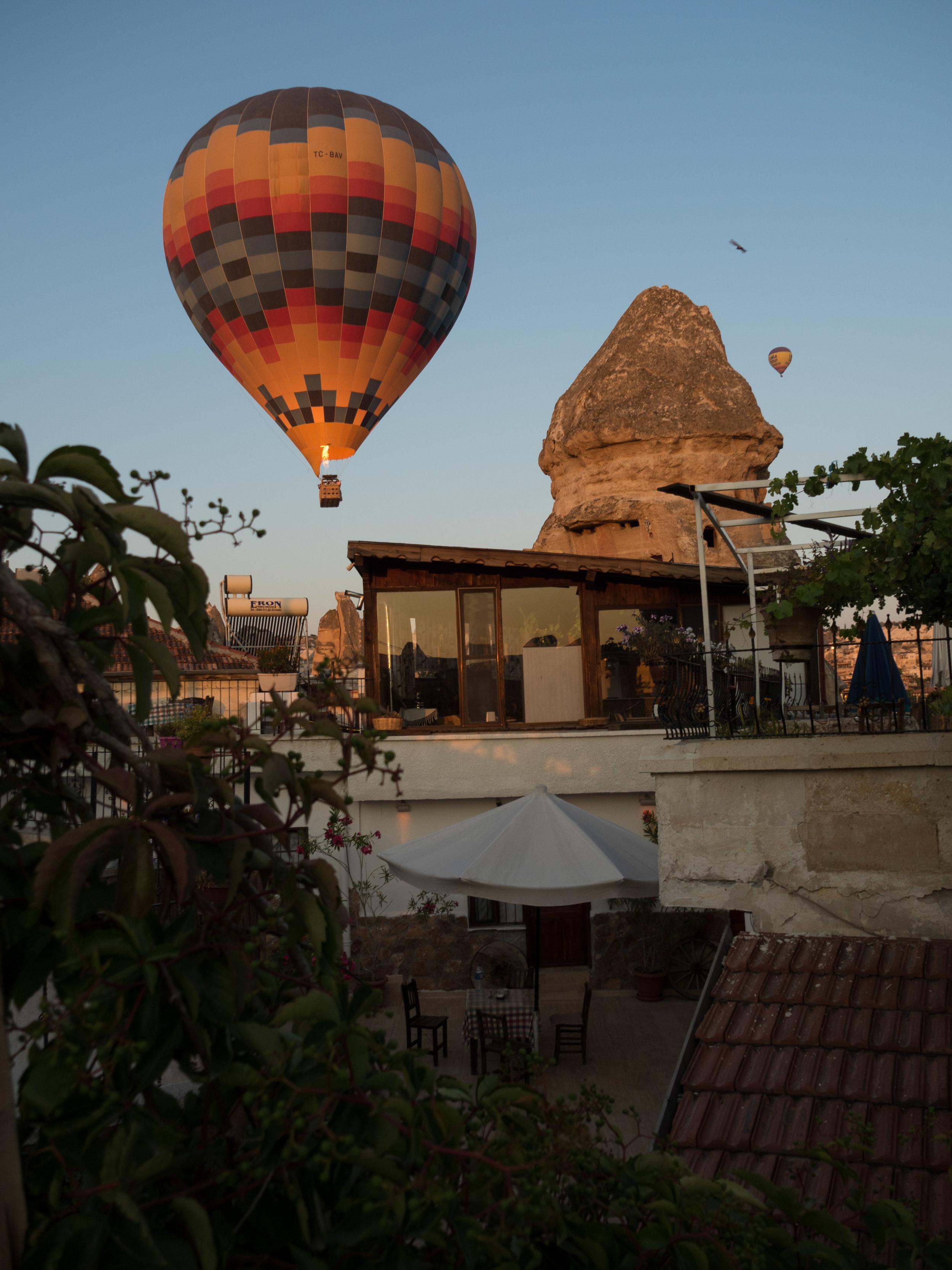 Balloon & Chimney