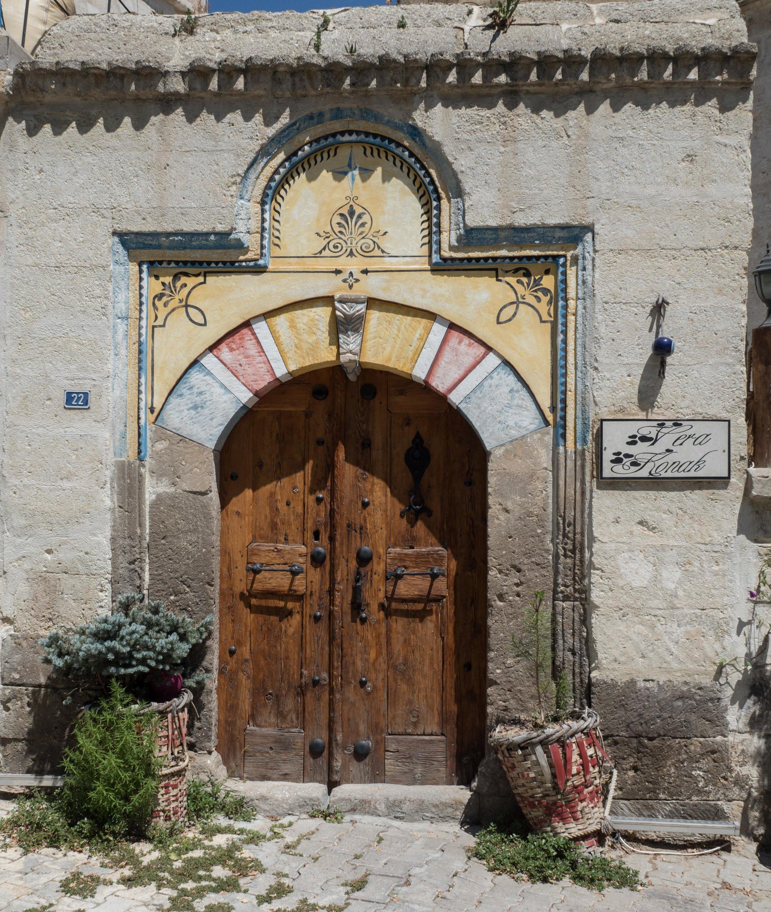 Mustafa Pasa Home Door