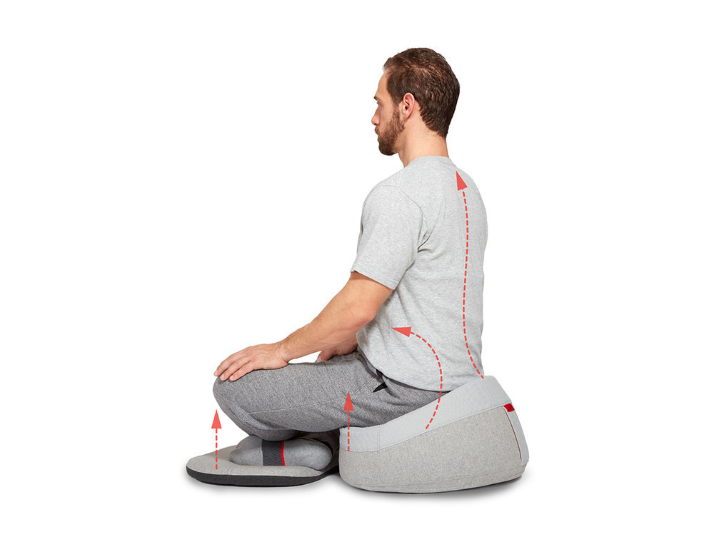 Ergonomic Furniture Design | Meditation Design | Leadoff Studio