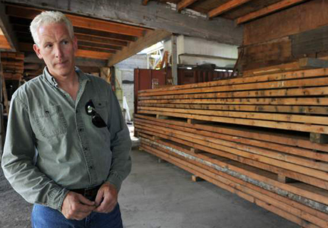 Old wood in the Vancouver Sun - Old Wood commands premium prices, check out our very own Bruce MacDonald in this article by the Vancouver Sun.