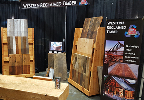 Global Buyer's Mission - The Global Buyer's Mission in Whistler each September is a focused tradeshow for BC Wood products, as well as a great networking opportunity for designers and producers. Western Reclaimed Timber can be found at this tradeshow each year.