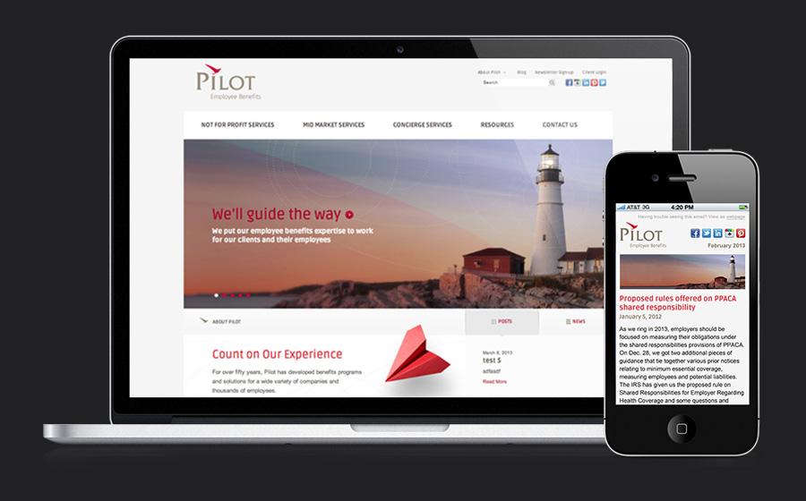 Pilot Employee Benefits-Website Redesign