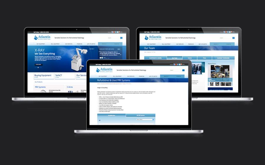 Atlantis Worldwide Website Redesign