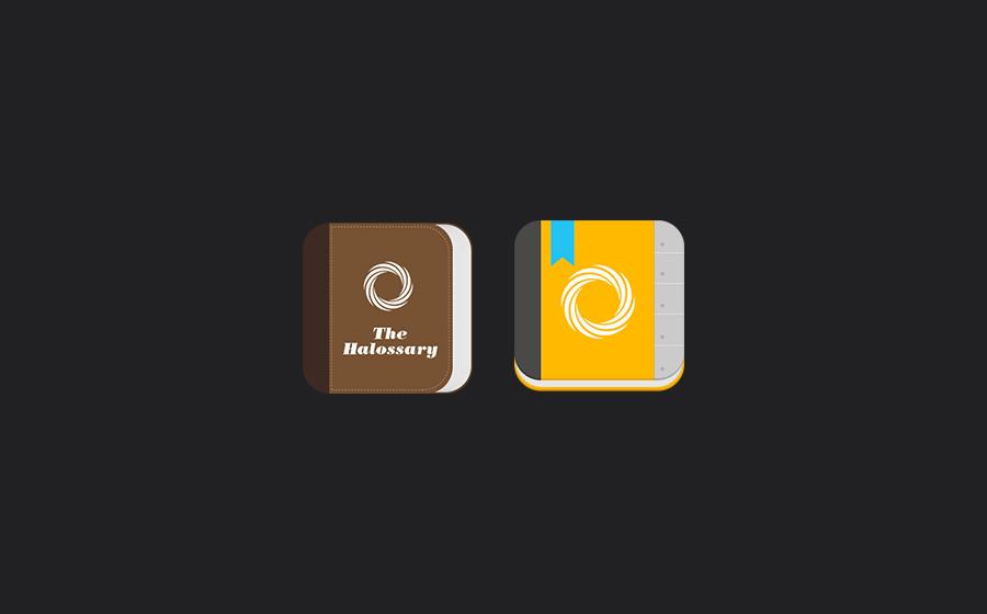 Halossary App Design