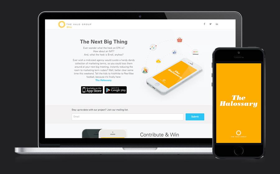 Halossary App Design and Development