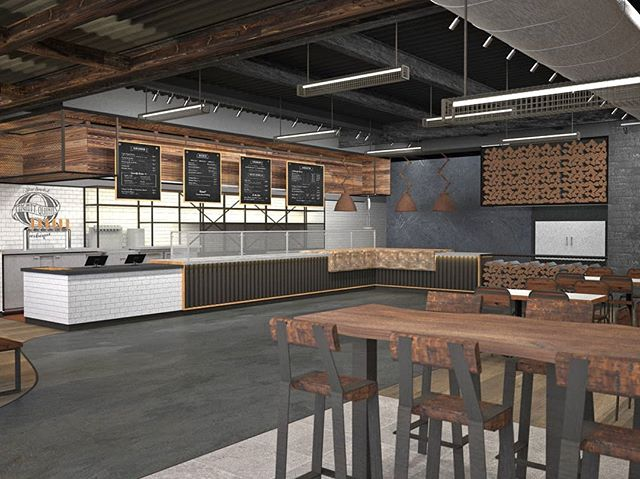 We are excited to be working with @mightyquinnsbbq on their new franchise locations, with a design centered on the history and culture of barbecue. . . #mightyquinns #mightyquinnsbbq #bbq #barbecue #newyork #longisland #florida #southflorida #design #architecture #fabrication #interiors #interiordesign #restaurant #smoke #wood #shousugiban