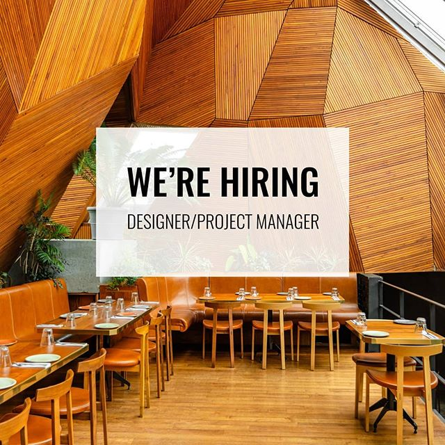 We are the featured job of the day on @dezeenjobs! For more info and to apply check out the link in our bio. . . . #dezeenjobs #dezeen #design #architecture #fabrication #interiors #interiordesign #newyorkjobs #architecturejobs #designjobs #boltdesigngroup