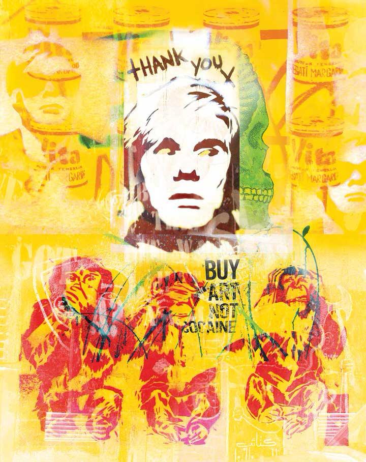 """"""" Buy Art Not Cocaine """""""