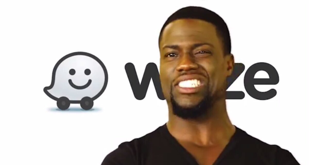 Kevin Hart becomes the first Celebrity Voice on Waze.