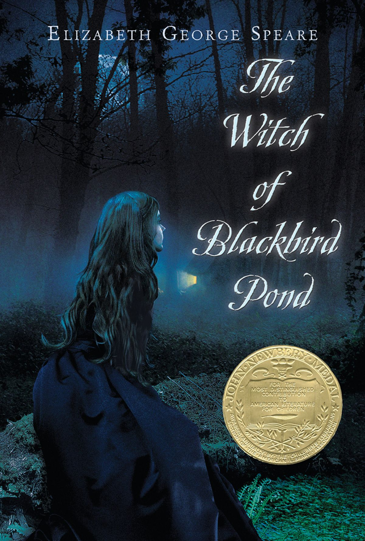 Houghton Mifflin paperback edition of  The Witch of Blackbird Pond