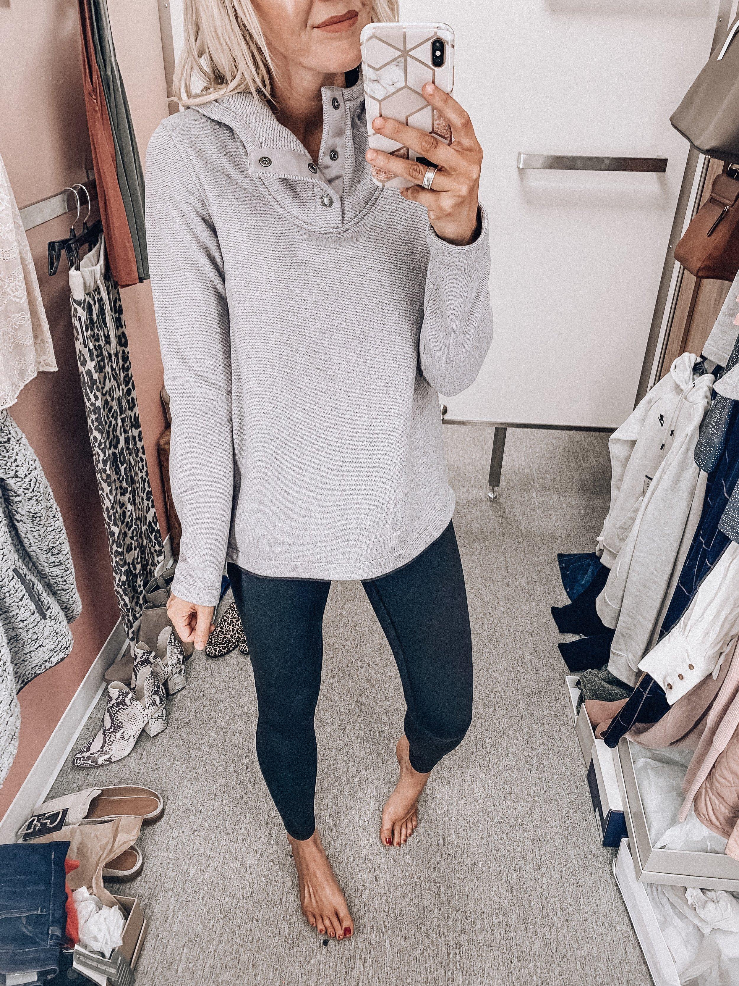 Pullover: size small  Zella leggings: size small