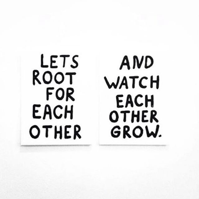We're all in this together — send someone you love some encouragement today🙌🏾☀️🌱