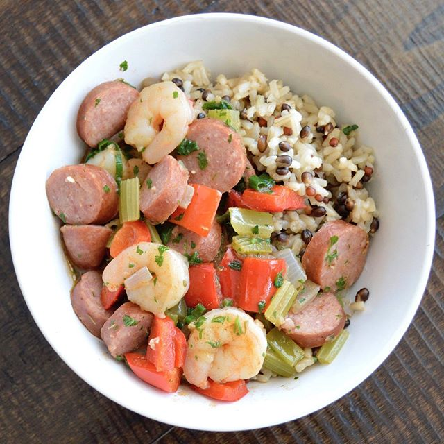 It's officially back to school time and we all know how hectic that can be! Treat yourself and the kiddos to an easy, delicious, no hassle meal tonight. Our sausage & shrimp jambalaya is out in stores this week and has your name written all over it!