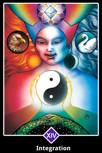 Temperance   Creating a balance through opposites.  Finding the middle ground.  Moderation. Compromise.  Blending of forces.  Emotional consideration.