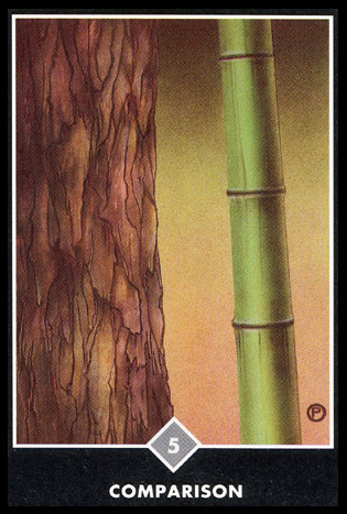 5 ofSwords   Intellectual Crisis.  A passive endurance of a negative experience allows the acceptance of limitations.  The need to give aggressive impulses an appropriate form of expression.  Conflict with harsh words or power plays.  An empty victory using unfair means, no-win situation.  Swallow pride and proceed in a new direction. Defenses have been penetrated. Time to develop new means of action.