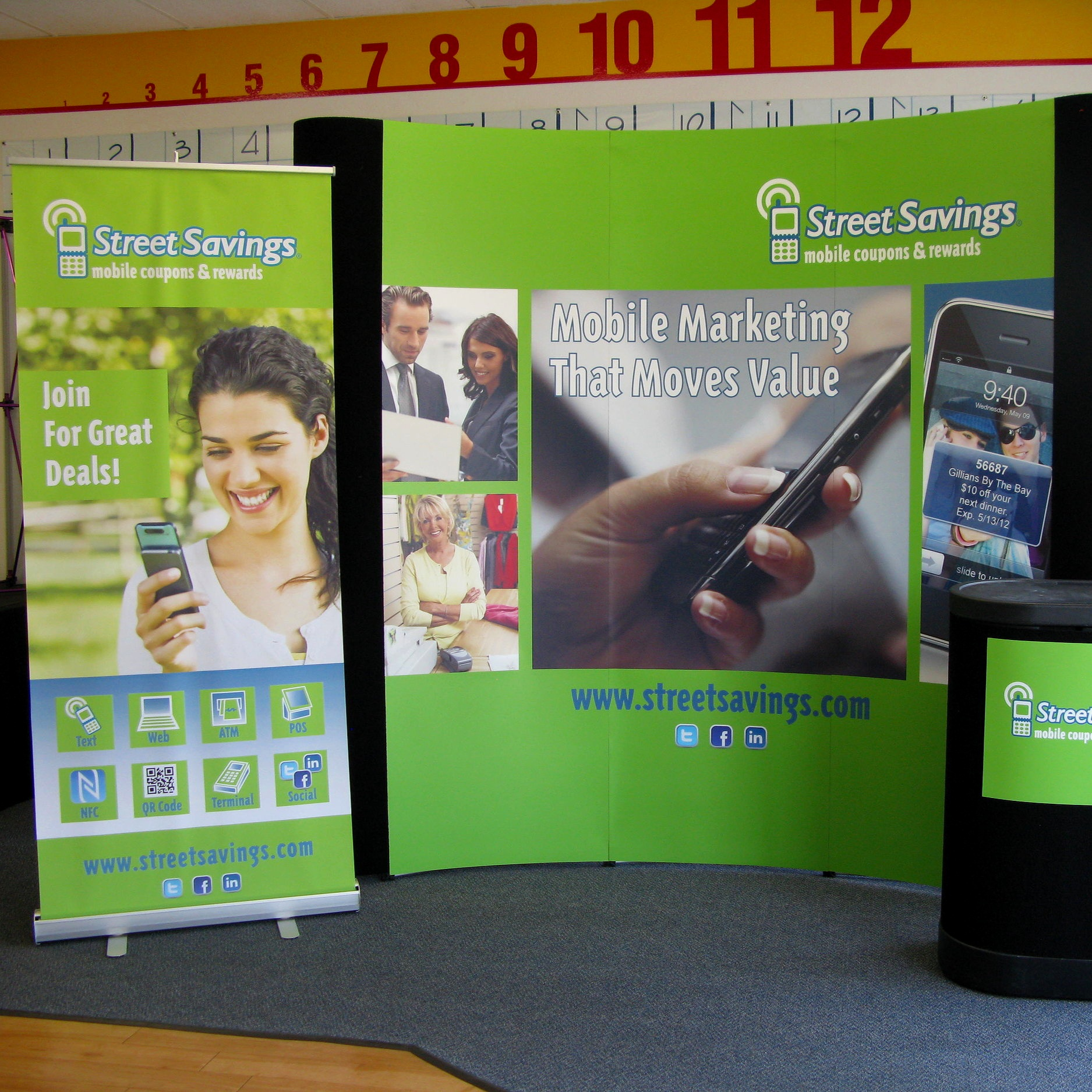 Trade Show Display Banner Retractable Sign