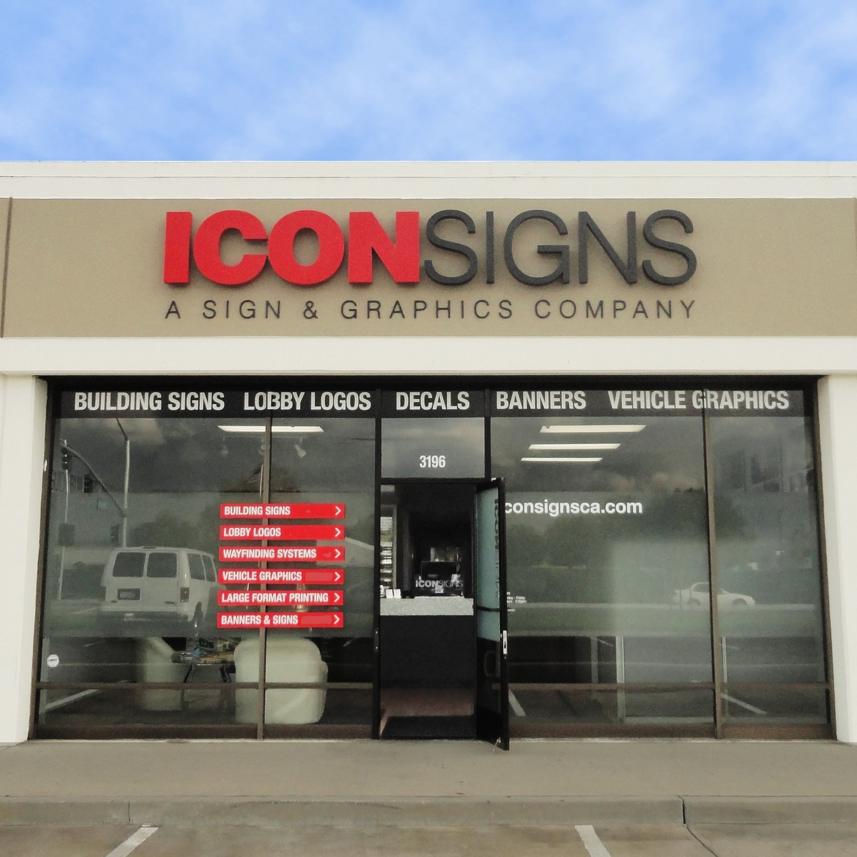 Our%2BLocation%2BStorefront%2BSign%2BCompany%2BIcon%2BSigns