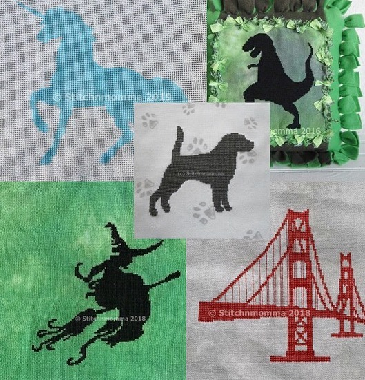 My silhouettes have always been crowd pleasers over the years. As I'm getting more requests, I'm thinking of designing & releasing and worry about stitching the models when I can.  In the past 2 days I've been asked for a rhinoceros 🦏 and a Labrador retriever 🐶. What would YOU like me to design? Please feel free to comment below. 🥰 #crossstitchersofinstgram #cross_stitch #crossstitching #crossstitchaddict #craftingkeepsmesane #imakestuff #silhouette #shopsmall #supportsmallbusiness #buyhandmade