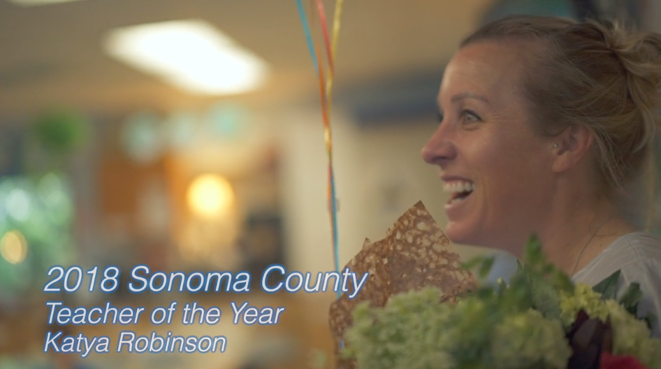 Sonoma County Teacher of the Year 2019